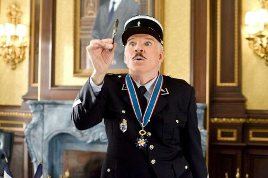 """Steve Martin in a scene from, """"The Pink Panther 2."""" (AP Photo/Columbia/Sony Pictures, Peter Iovino)"""
