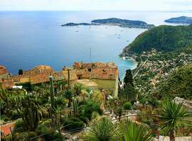 Exotic plants and breathtaking views greet visitors to the Jardin d'Eze gardens in the French Riviera hill town of Eze-le-Village.