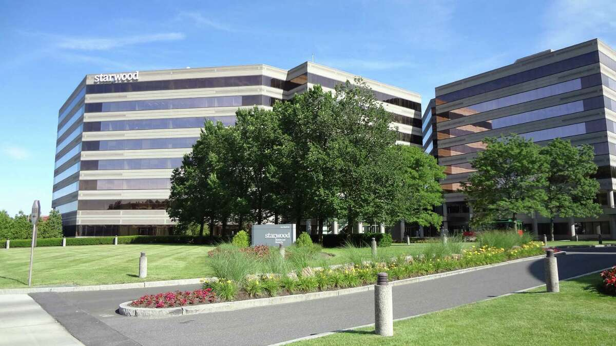 The headquarters of Starwood Hotels & Resorts Worldwide in Stamford.