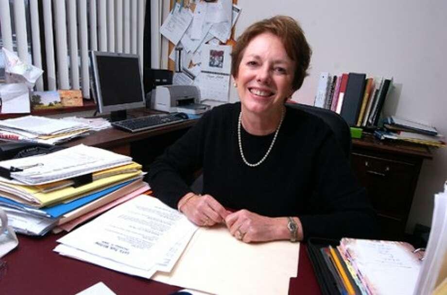 Photo/Alex von Kleydorff. Driscoll School Principal Lynn Tinacci will be retiring.