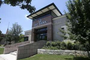IBC Bank's parent company reported a 67 percent increase in its bottom line in the quarter ended March 31. Pictured is one of the bank's San Antonio branches.