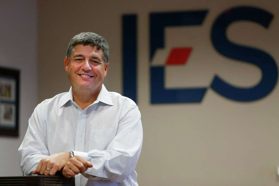 Robert Lewey, president of IES, says the Freeman Enclosure Systems acquisition strengthens the companny'selectro-mechanical products and services offerings. Photo: Michael Ciaglo, Houston Chronicle / © 2016  Houston Chronicle