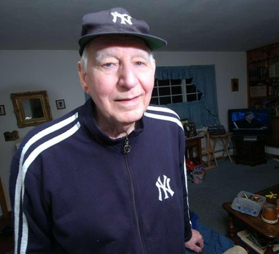 Photo/Alex von Kleydorff. Yankee fan Bob Corbo