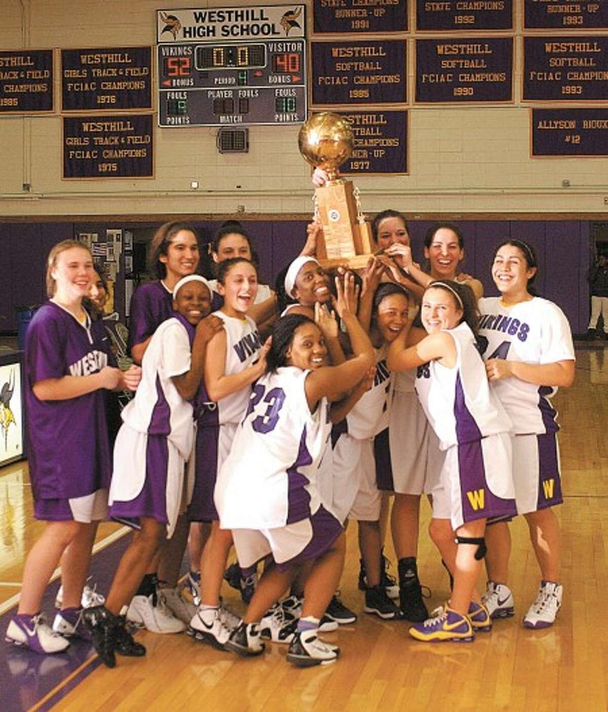 It's a West-thrill -- Vikings stun Stamford to take city girls hoop championship