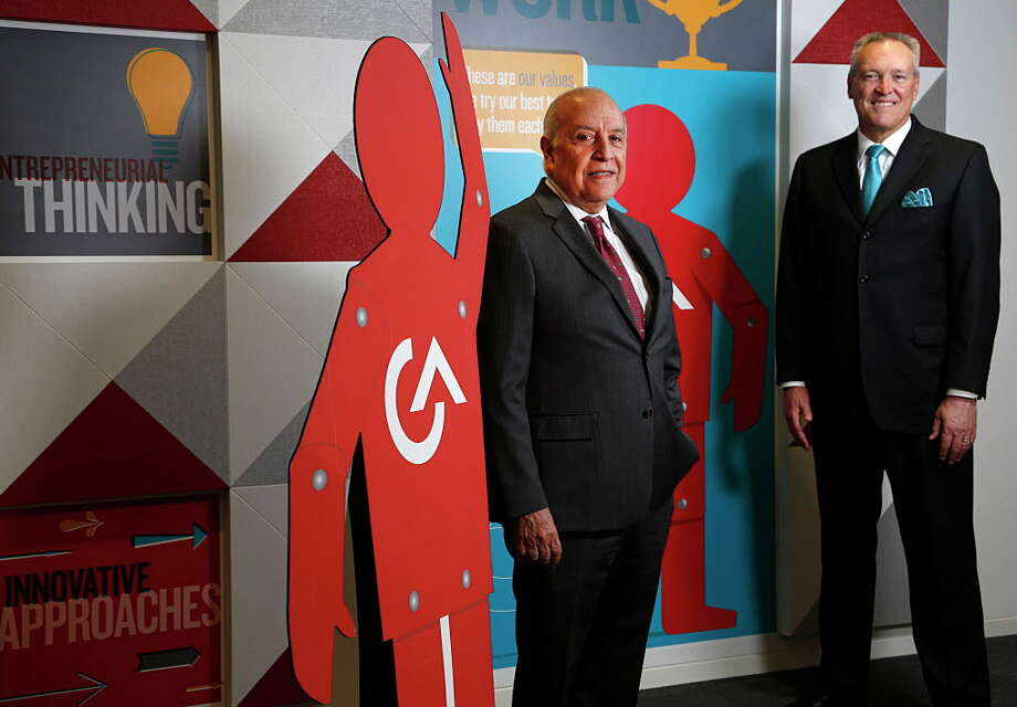 CEO Antonio Grijalva left, and President and COO John Allen founded G&A Partners in 1995. Photo: James Nielsen, Houston Chronicle / © 2016  Houston Chronicle