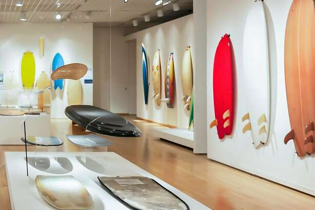 """From """"Surf Craft"""" at Sonoma Valley Museum of Art"""