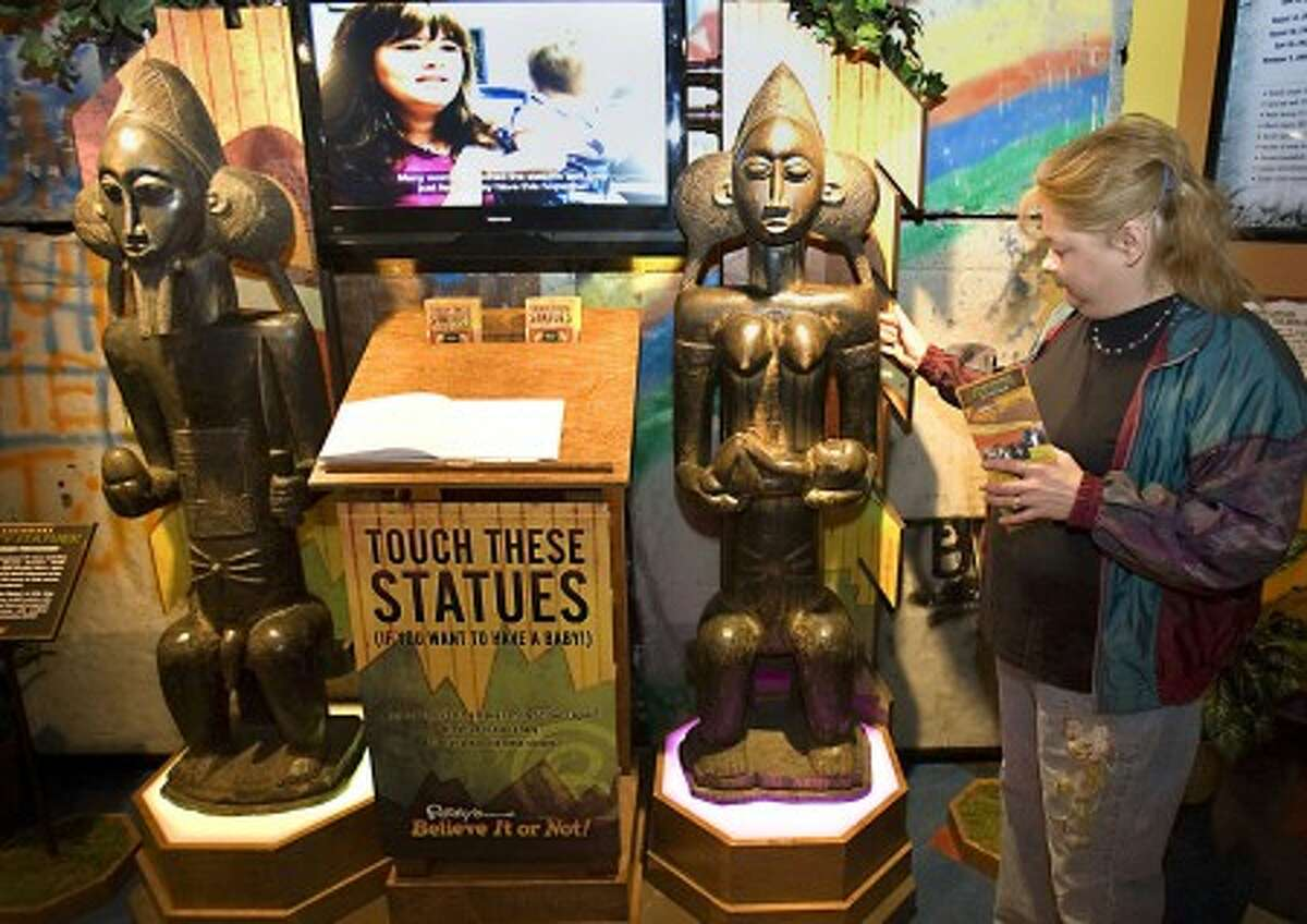 Tammy Mace visits the Ripley''s Believe it or Not Museum. MCT photo