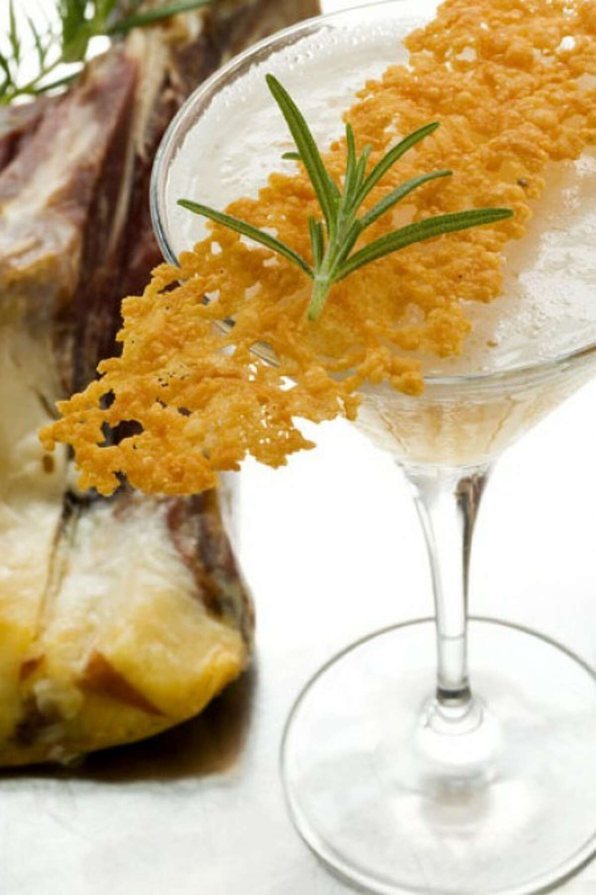 Adam Seger''s a ham-and-cheese cocktail is pictured. (AP photo)