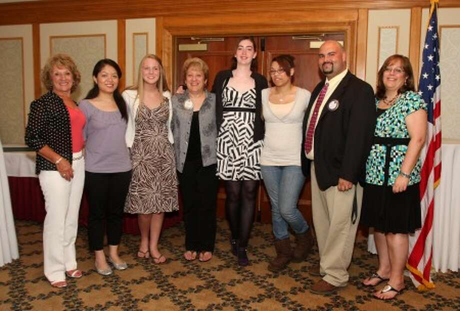 The Norwalk Exchange Club holds their annual high school scholarship awards