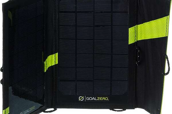 Use the Goal Zero Nomad 7 Solar Panel to keep your phone, GPS and MP3 player charged, and you can stay out longer.