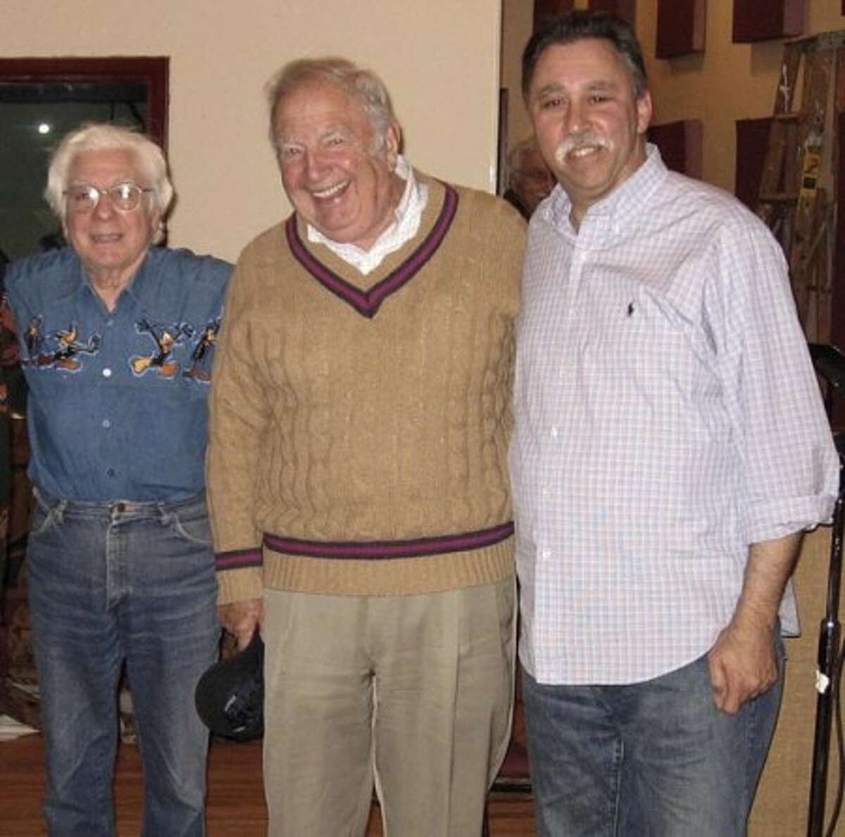 Jerry Bruno, Bucky Pizzarelli, and John Cutrone will play two sets at Sono Seaport Seafood Restaurant on sunday to celebrate the release of Cutrone