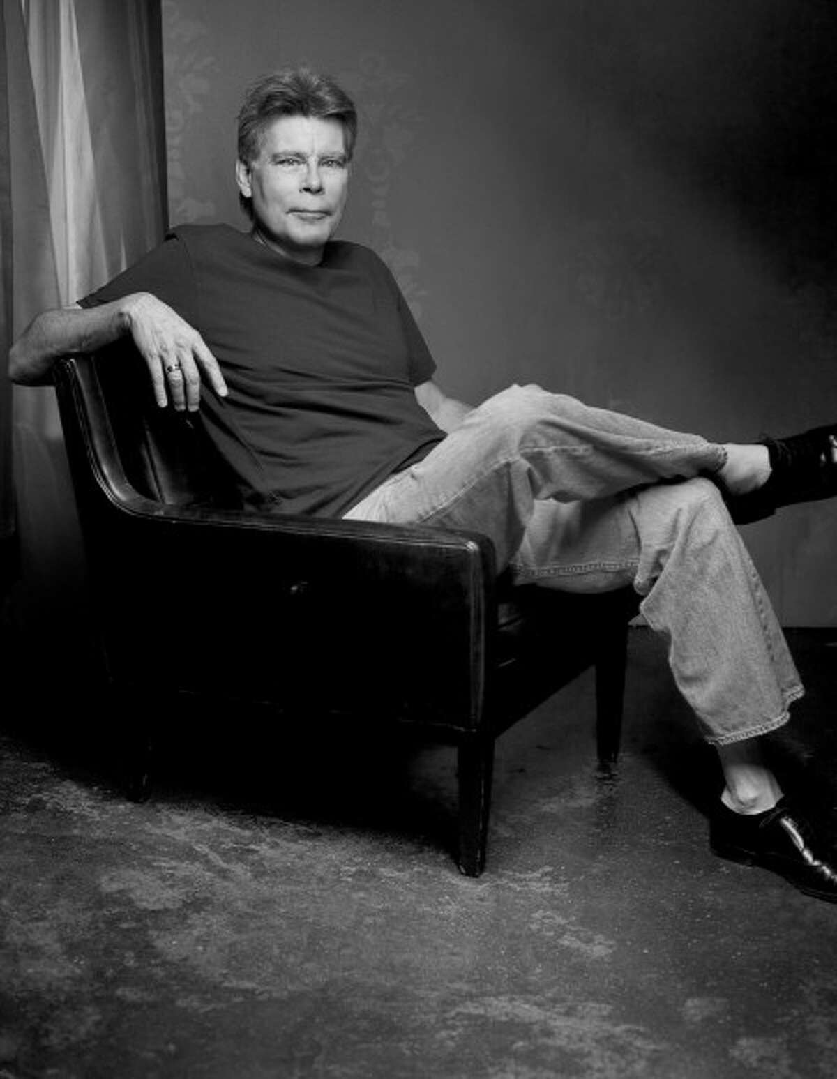 """Stephen King author of """"Just After Sunset"""". (AP Photo/Amy Guip,Scribner)"""