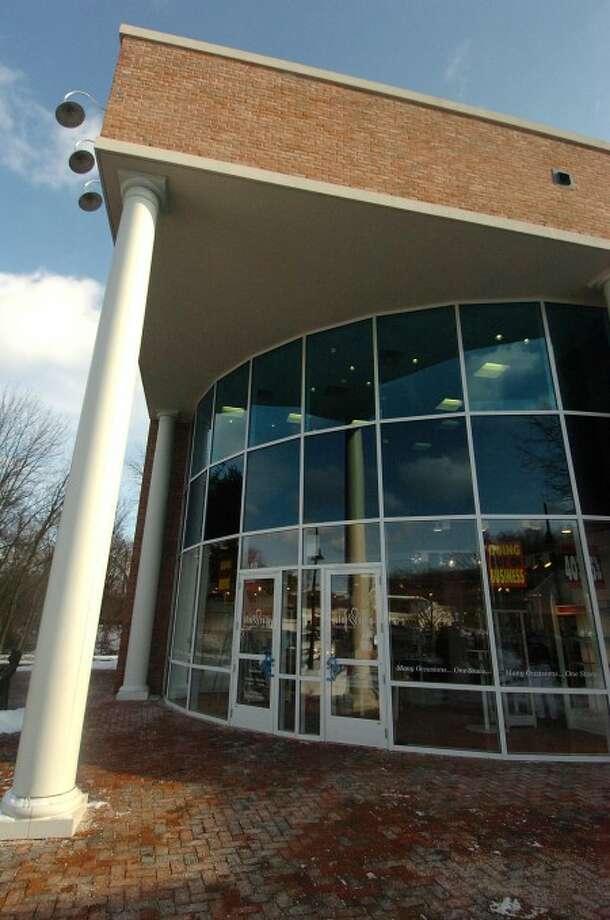 Photo/Alex von Kleydorff. The Blue Tulip store at the Wilton Campus Shops, Wilton Center.