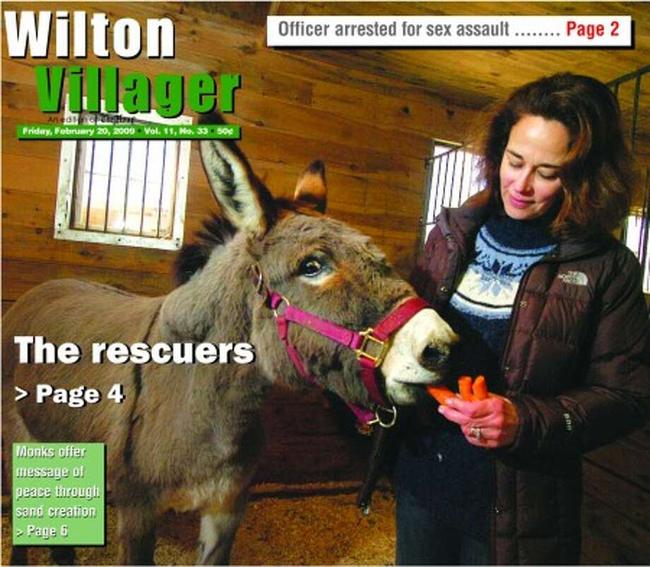 The new look of the Wilton Villager, which was launched Friday, Feb. 20.