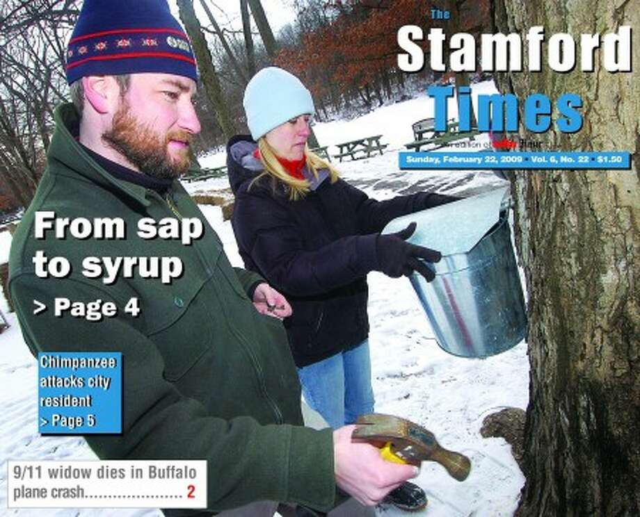 The new look of The Stamford Times, which was launched Feb. 22.