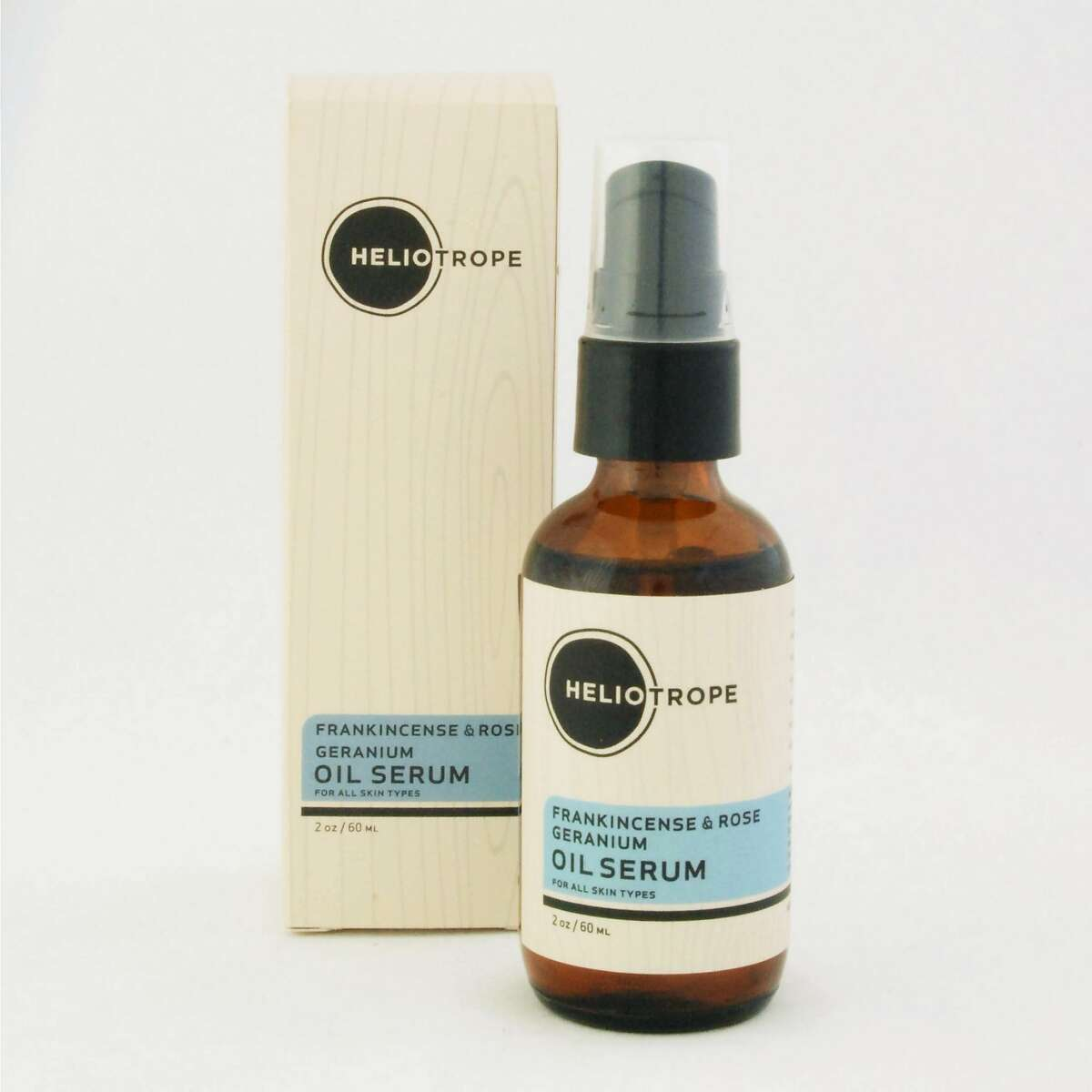 With face oils still the rage, San Francisco's Heliotrope has a Frankincense &Rose Geranium Oil to soothe irritated skin (especially post-beach) without clogging pores. Omega-3 and -6 fatty restore the face, while its rejuvenating scent restores the mind. ($49, Acacia, 415 Valencia St., SF).