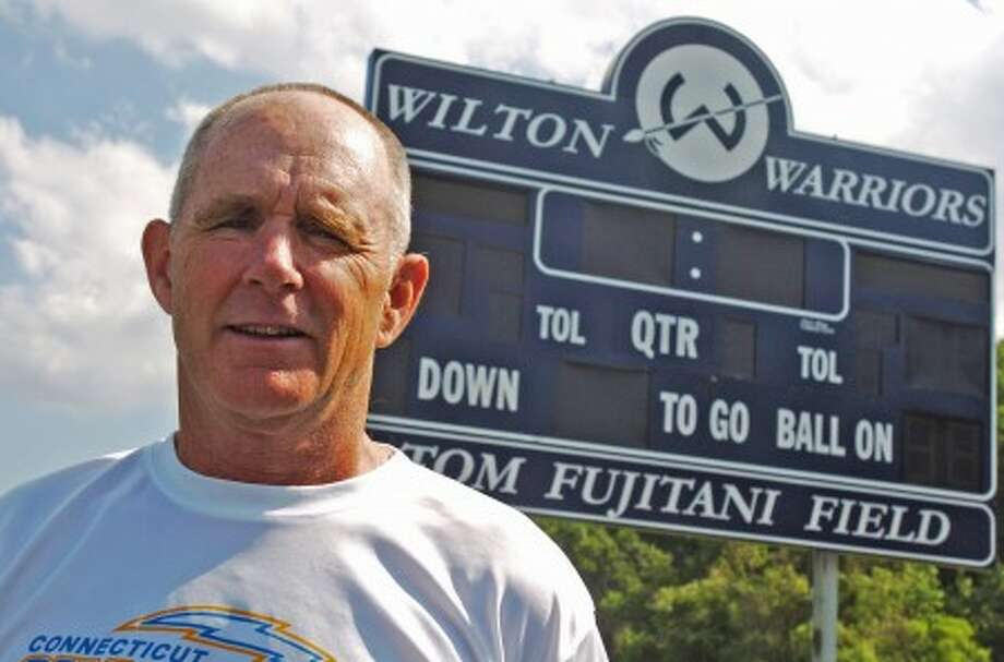 Ben Gancsos photo - Former Wilton High School boy''s lacrosse head coach, Paul McNulty has accepted an offer to coach at Staples High School next spring.