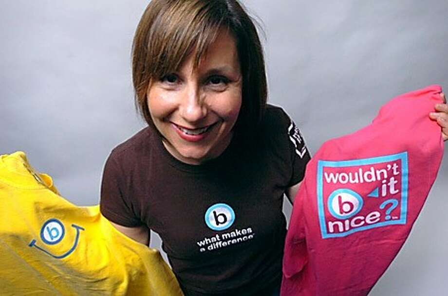 Weston resident Carrie Wittenstein, owner of Wouldn''t it B Nice clothing company/hour photo matthew vinci