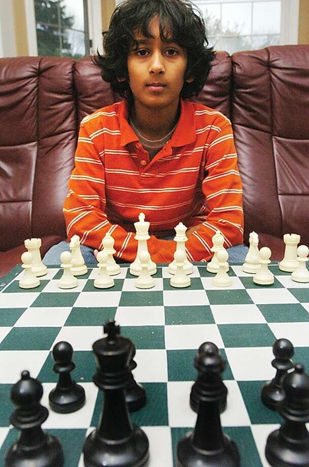 Kapil Chandran is the highest rated chess player elementary and middle schooler in Ct/hour photo matthew vinci