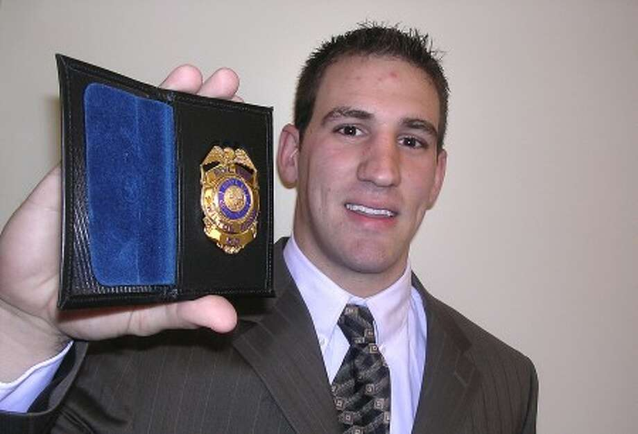 File photo. Officer Andrew Barone