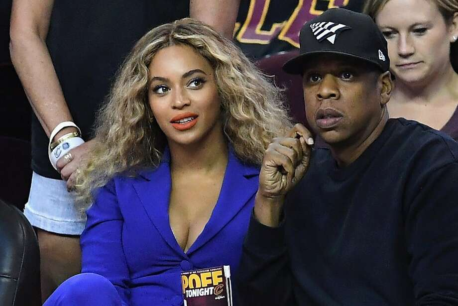 Queen Bey and Jay Z attended Game 6 of the NBA Finals. A photographer from Getty attentively photographed her continuously throughout the game.  Photo: Jason Miller, Getty Images