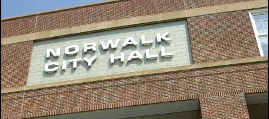 Norwalk resident, Barbara M. Davis demanded to see Mayor Knopp on Monday morning at City Hall reguarding a police dispatch incident..photo matthew vinci