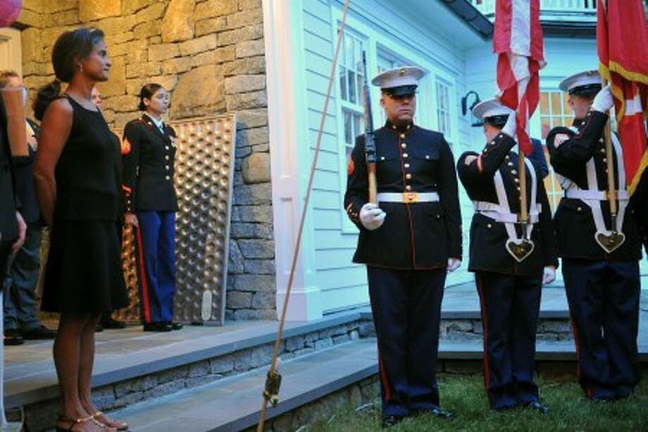 A night for the troops in Wilton