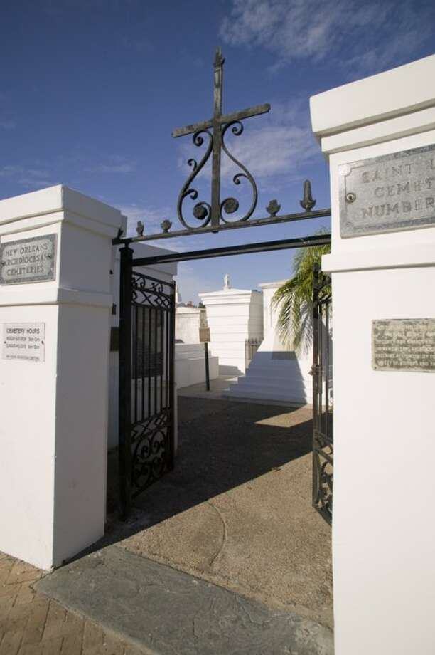 FILE-This undated file photo released by the Louisiana Office of Tourism shows St. Louis Cemetery in New Orleans, La. The cemetery is on the list of places that Louisiana tourism officials recently unveiled as the first 26 sites on an African American Heritage Trail running from New Orleans to Northern Louisiana. (AP Photo/Zave Smith)