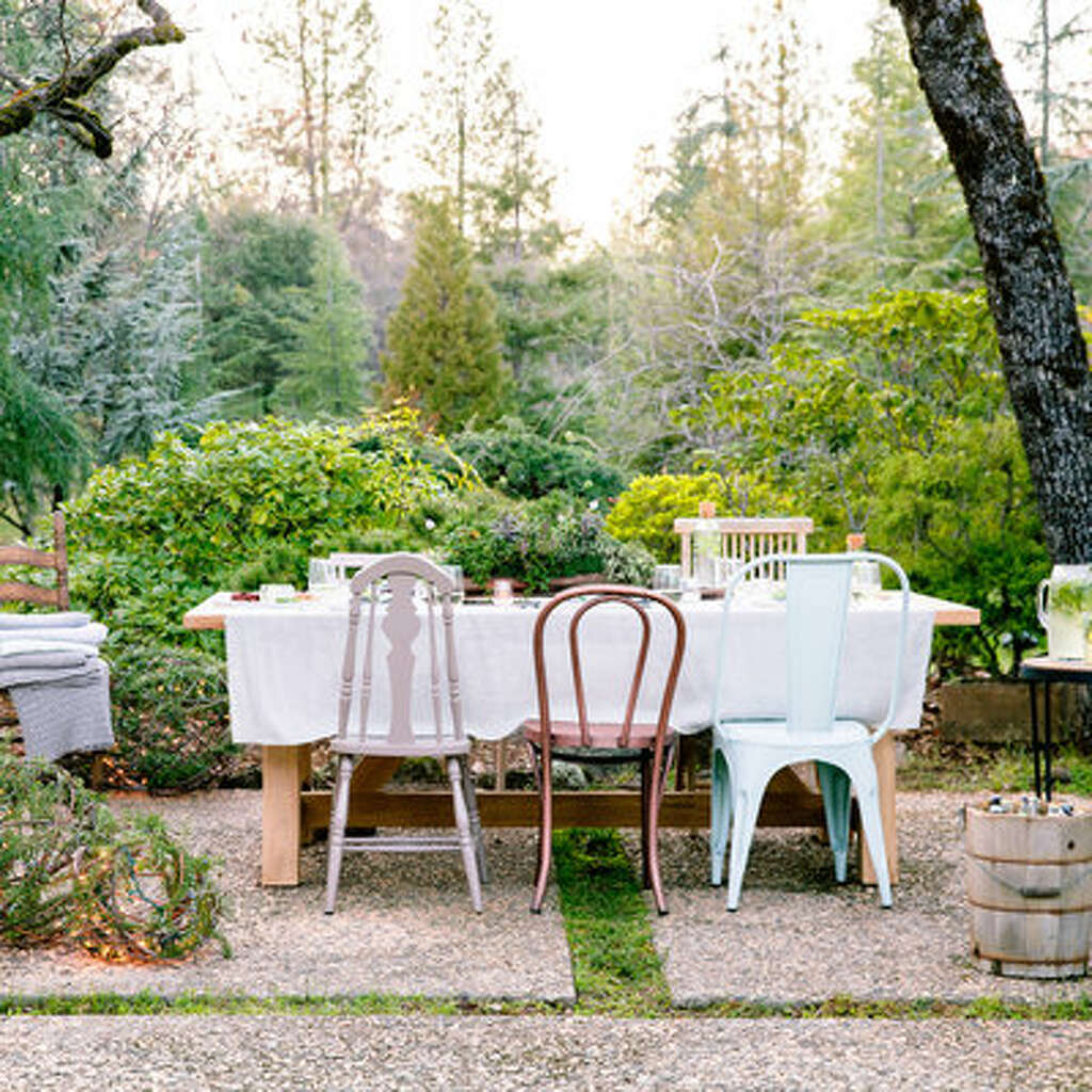 How to set the mood for a chic garden party - SFGate