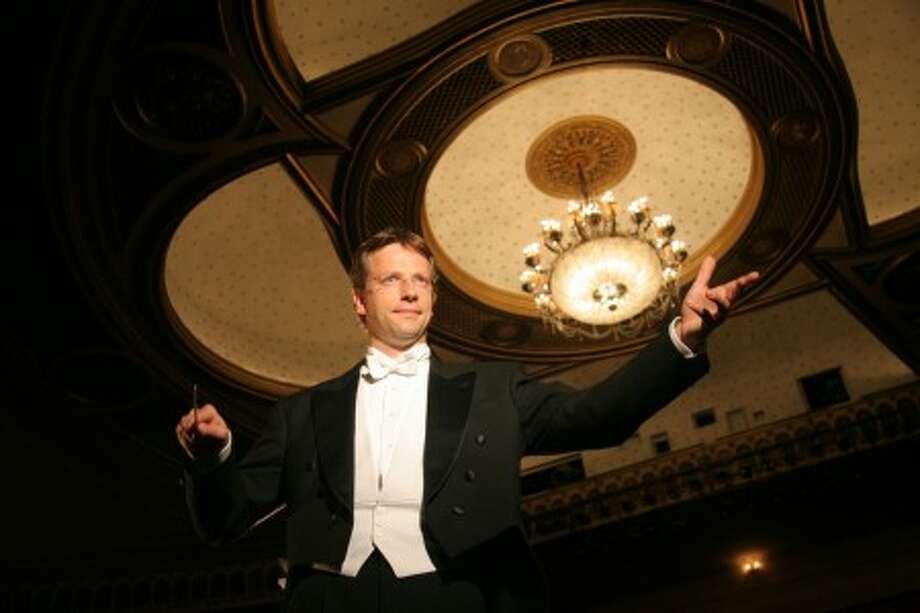 Stamford Symphony Music Director Eckart Preu.