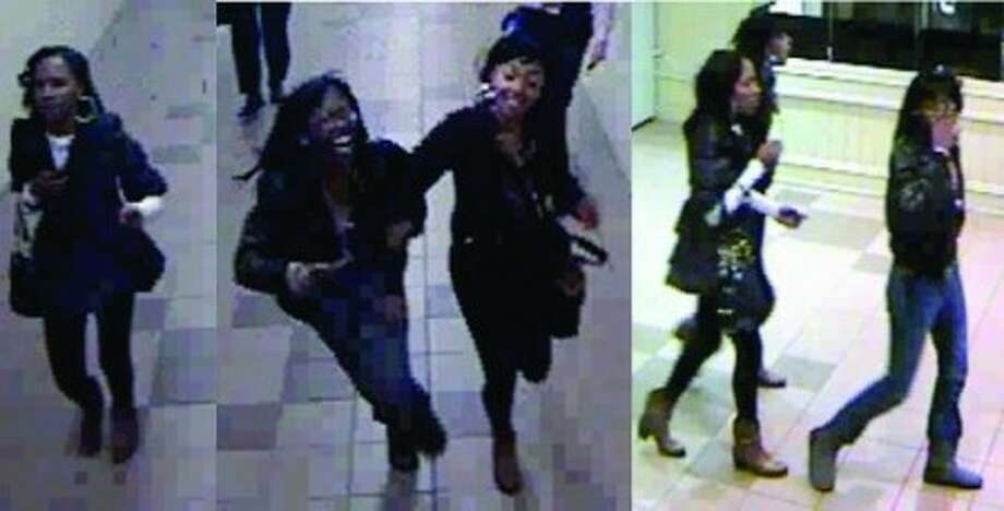 On Monday, Nov. 16, the above pictured black females boarded Metro-North train #1538 at 1550hrs in Stamford en-route to Bridgeport. While the train was stopped at the South Norwalk Train Station, the above females assaulted a 61 year old Metro-North Female Conductor at the South Norwalk train station over the issue of paying for their train fare. The Conductor suffered a cut under her right eye and two broken fingers as a result of this assault.