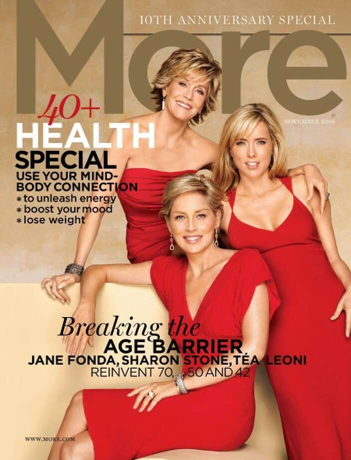 The November issue of More, the lifestyle magazine for women over 40. (MCT)