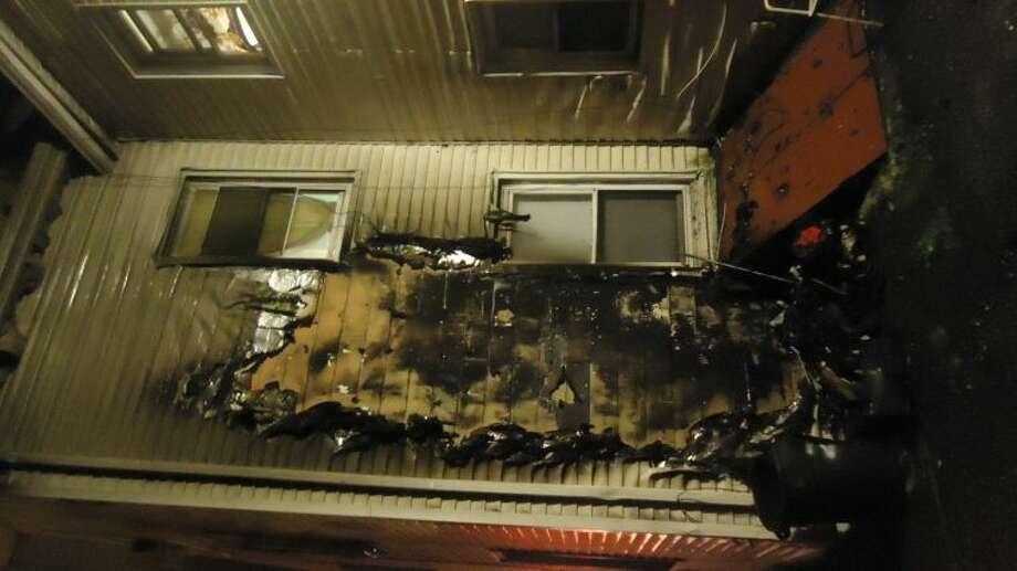 Norwalk fire responds to late night blaze