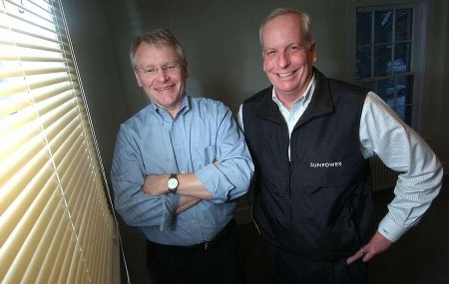 Photo/Alex von Kleydorff. l-r Alteris President Ron French and C.O.O. Tim Seamans.