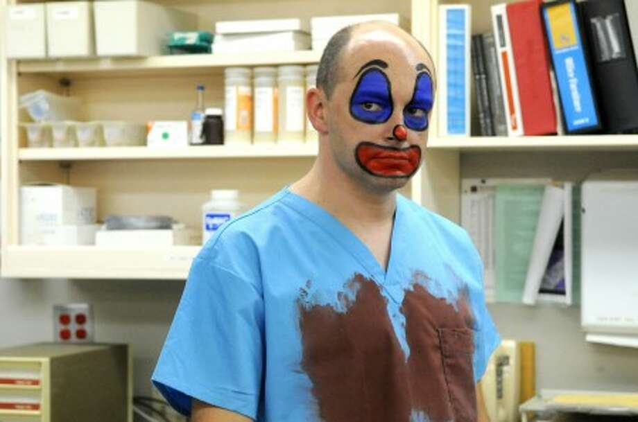 "Rob Corddry in a scene from, ""Childrens'' Hospital,"" available on TheWB.com. (AP Photo/The WB.com, Colleen Hayes)"