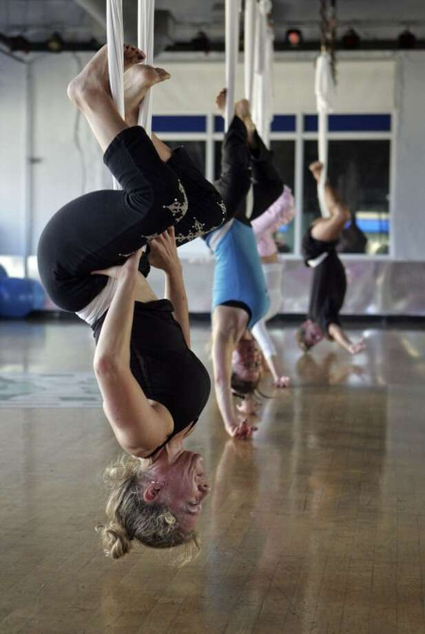 Yoga student Shari Portnoy. MCT photo