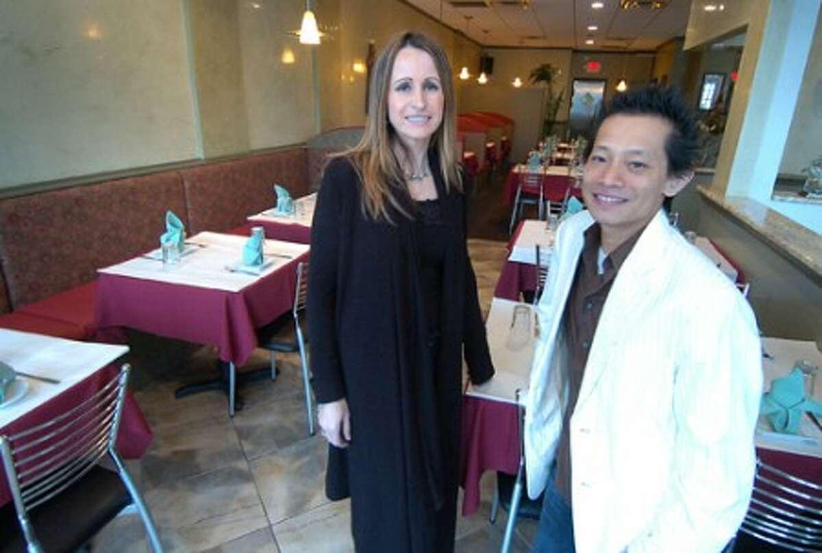 Photo/Alex von Kleydorff. Lushe Gjuraj and Nathan Seth at their new SONO restaurant, King Thai Bistro