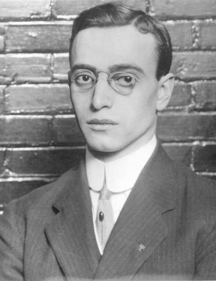 """In this publicity image released by PBS, Leo Frank is shown. Frank, a Jewish supervisor of a pencil factory in Atlanta, was convicted of the 1913 murder of Mary Phagan, a 13-year-old laborer in the factory. Frank''s story will be told in """"The People v. Leo Frank,"""" a 90-minute film on PBS airing Monday, Nov. 2 at 10:00 p.m. EDT. (AP Photo/PBS)"""