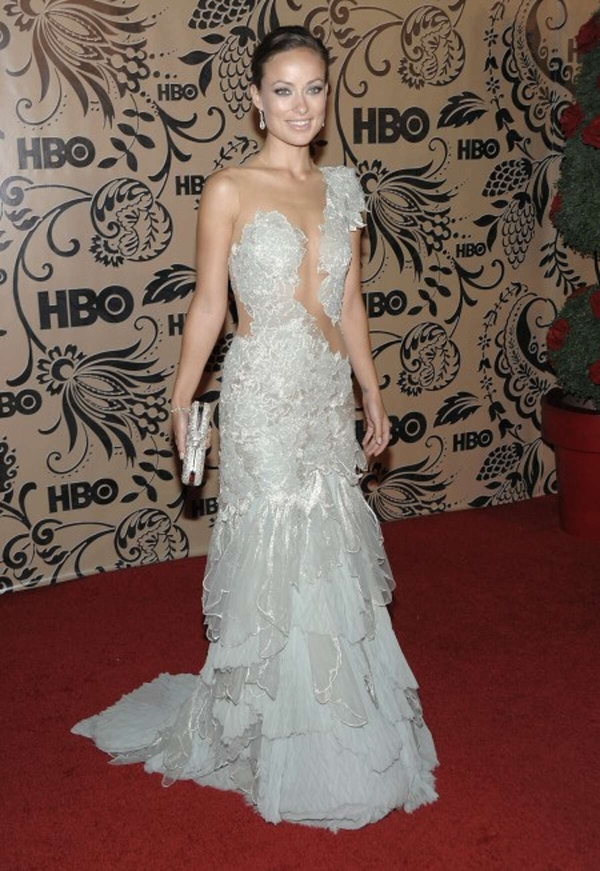Actress Olivia Wilde arrives at the HBO Emmy Party in West Hollywood, Calif. on Sunday, Sept. 20, 2009. (AP Photo/Dan Steinberg)