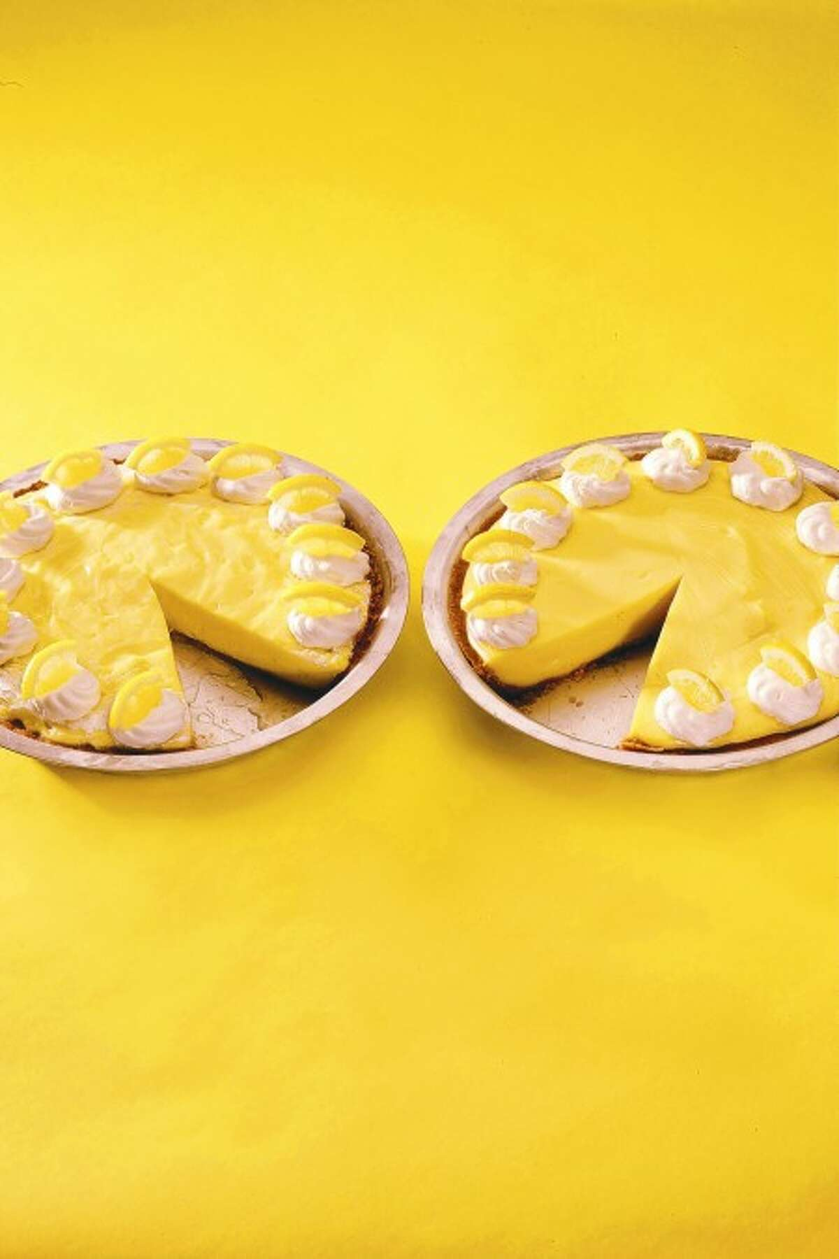 Lemon cream pies. MCT photo