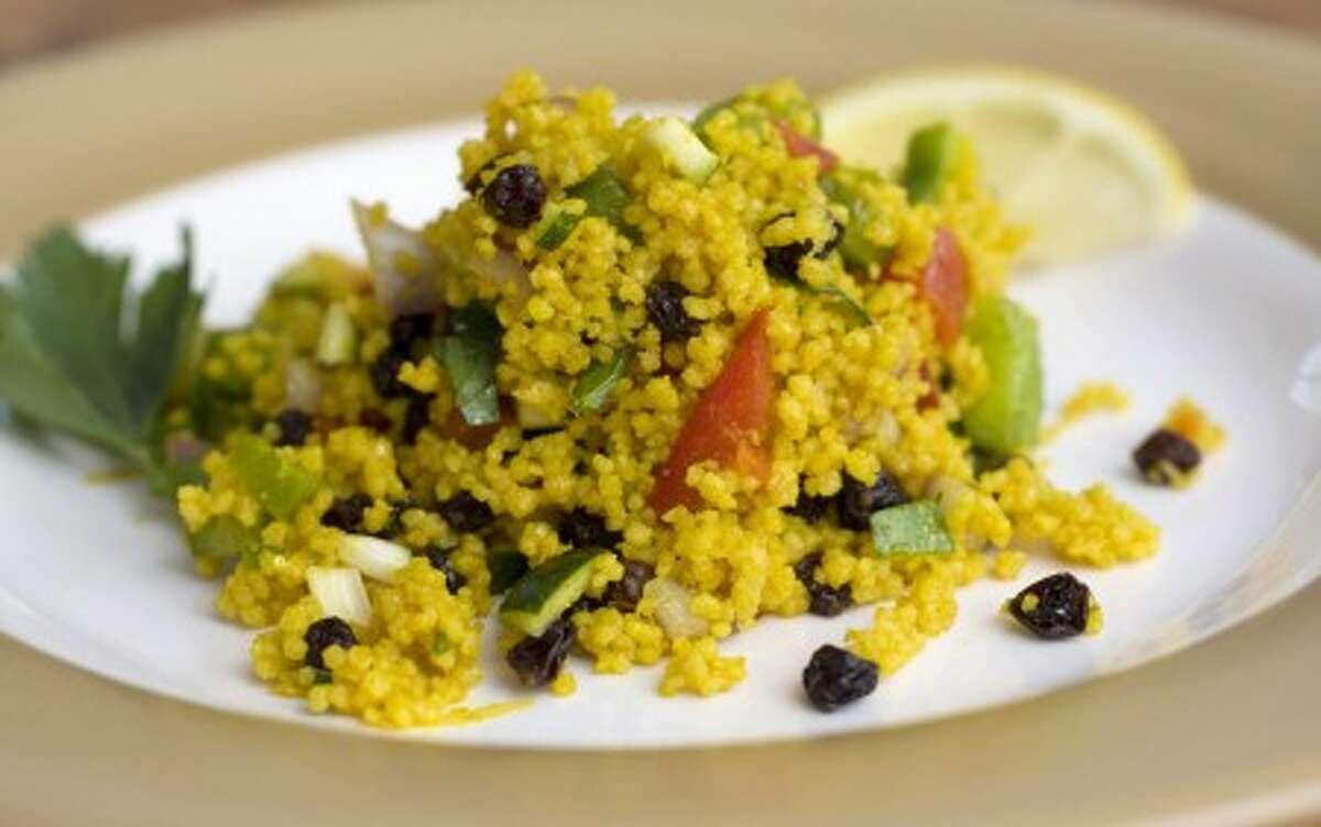 Moroccan couscous salad. AP photo