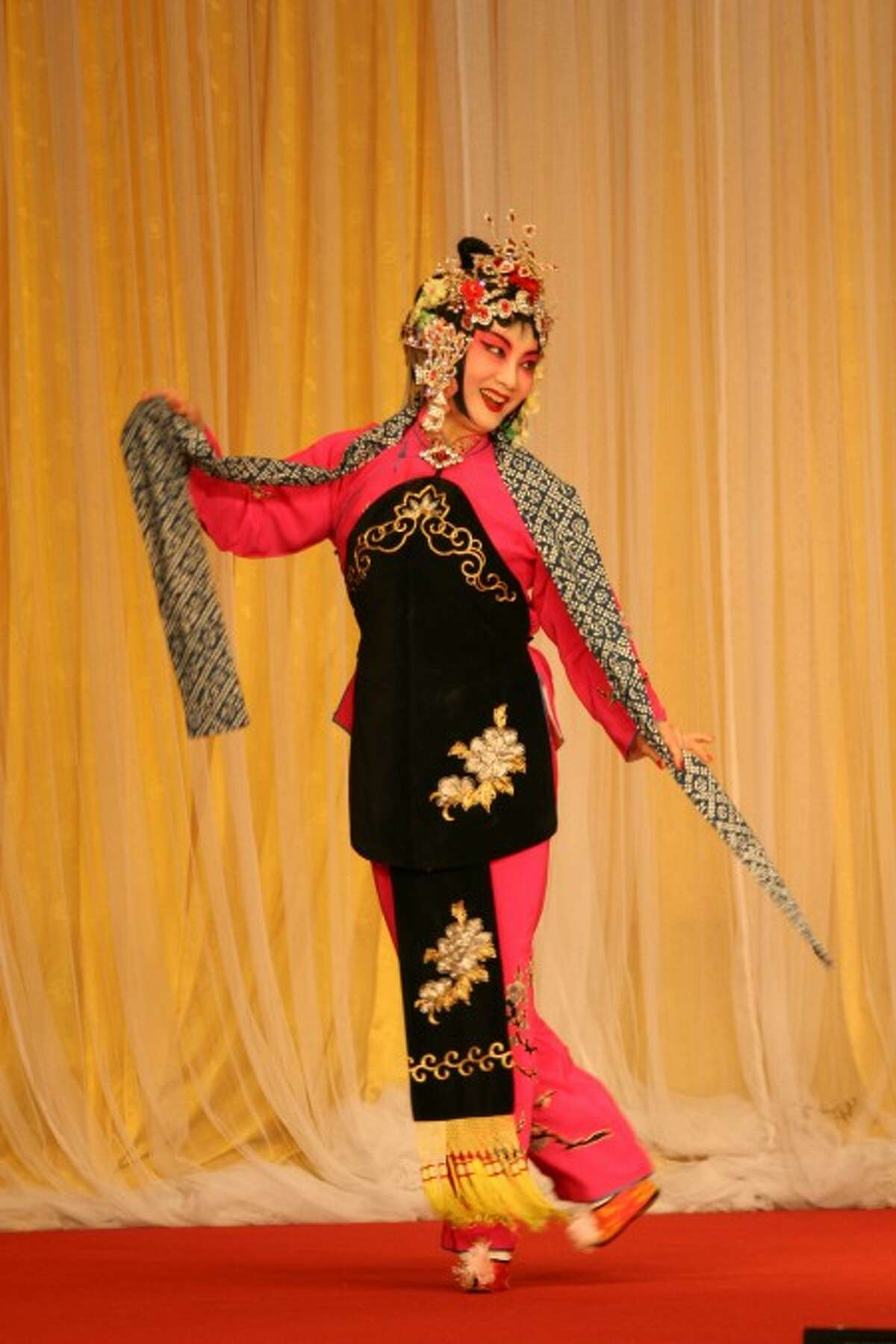 Contributed photo Xue-ling Qin isa lead performer with the New York Chinese Opera Society which will perform May 3 in New Canaan.