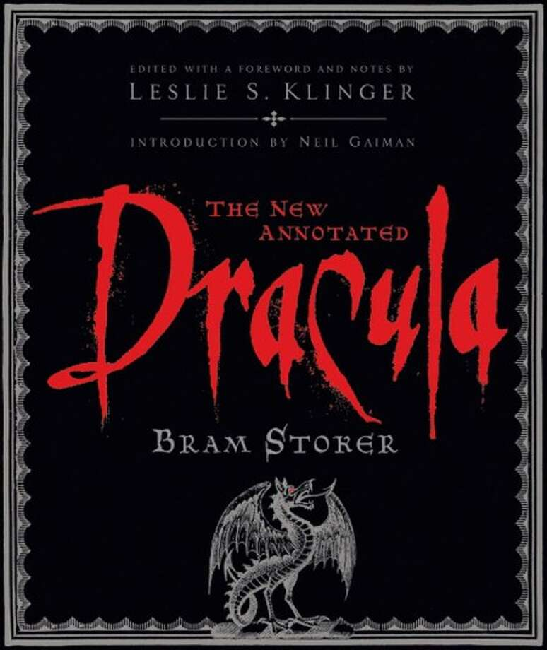"The cover of ""The New Annotated Dracula."" (Photo/W.W.Norton & Co.)"