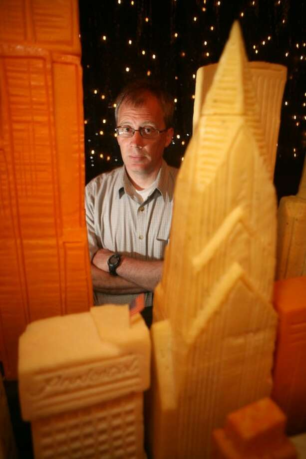 Cheese expert and professor, Scott Rankin. MCT photo