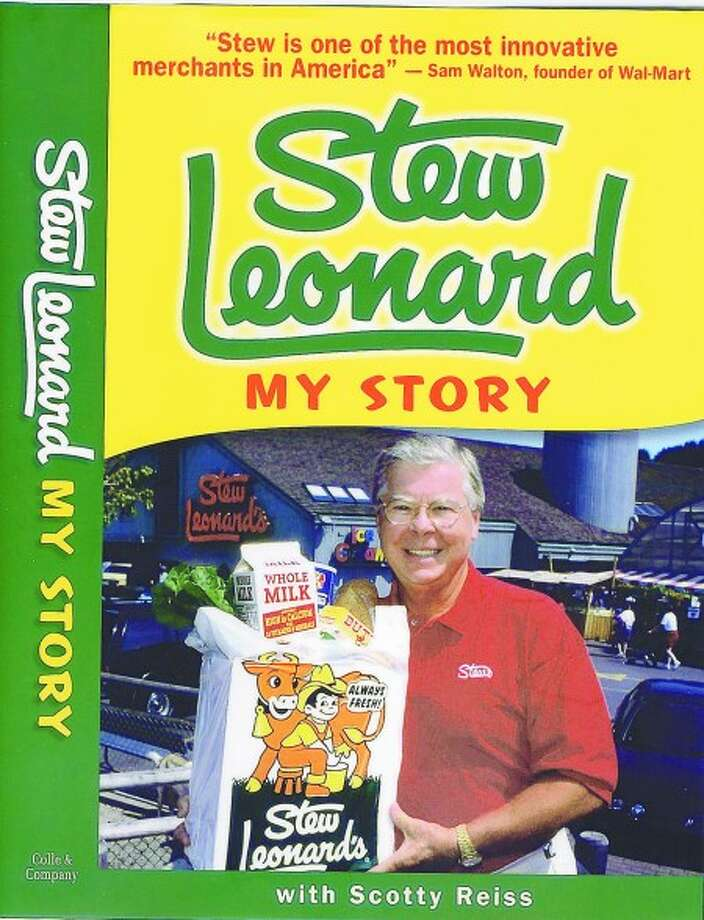 Stew Leonard tells his story in book