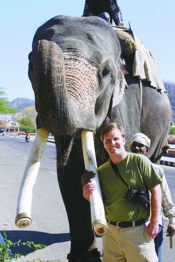 Naturalist Chris Evers lectures on 'Indian experience'