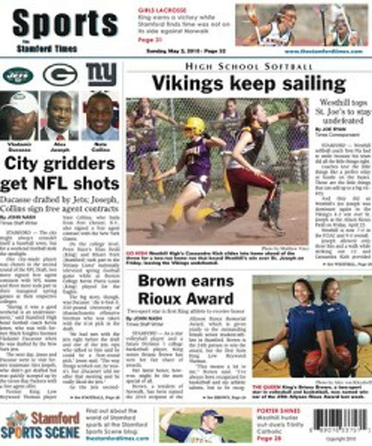 This week in The Stamford Times (May 2, 2010 edition)