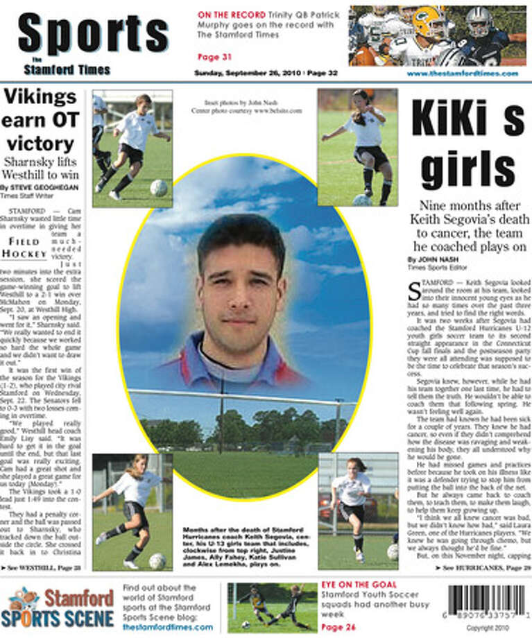 This week in The Stamford Times (Sept. 26, 2010 edition)
