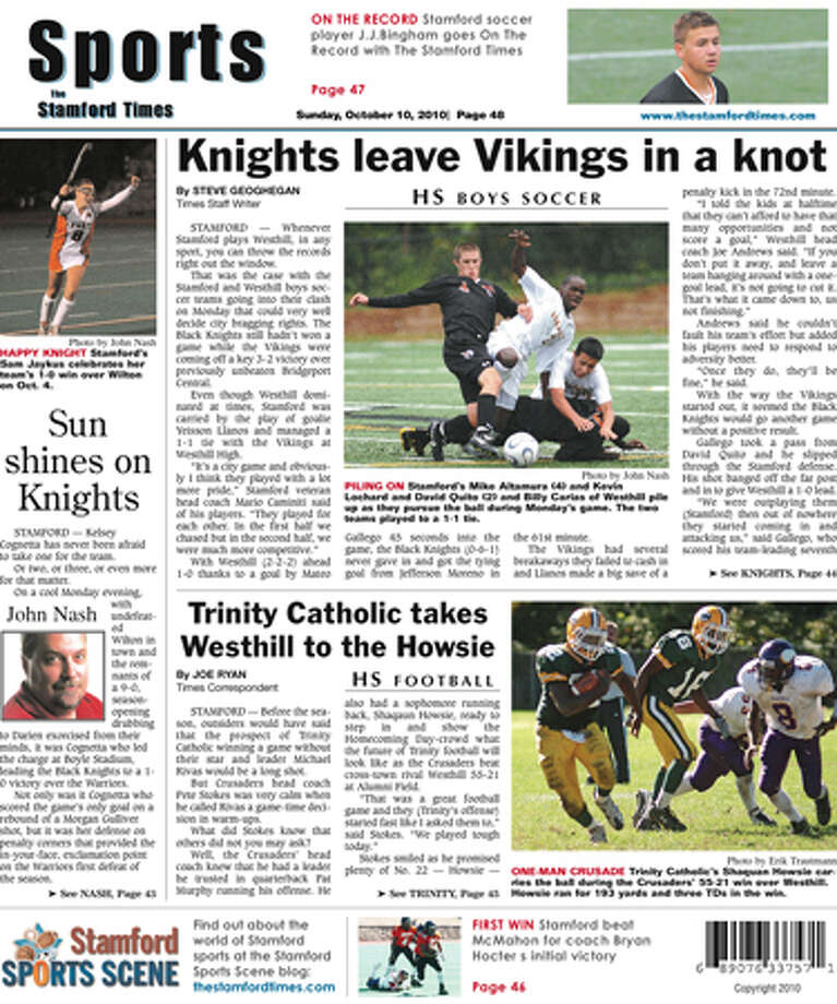 This week in The Stamford Times (10/10/10 edition)