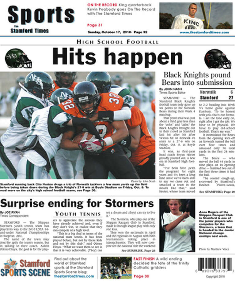 This week in The Stamford Times (10-17-10 edition)